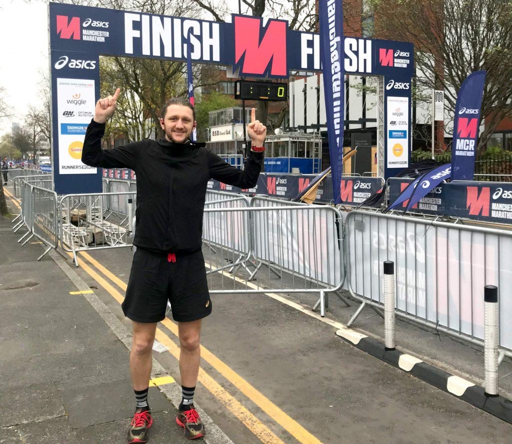 Dan Prettejohn - Manchester Marathon